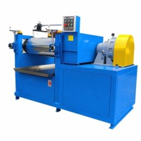 Silicone Plastic Two Roll Mill