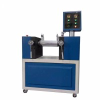 Two Roll Silicone Mixing Mill with PLC