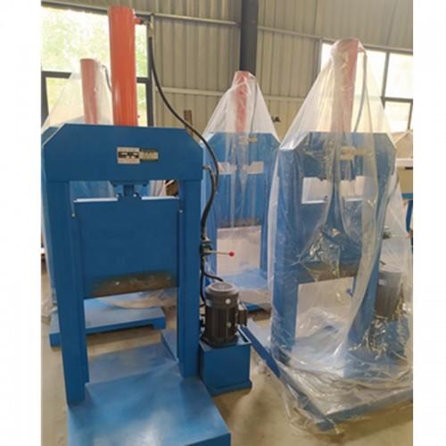 Hydraulic Rubber Bale Cutter Machine